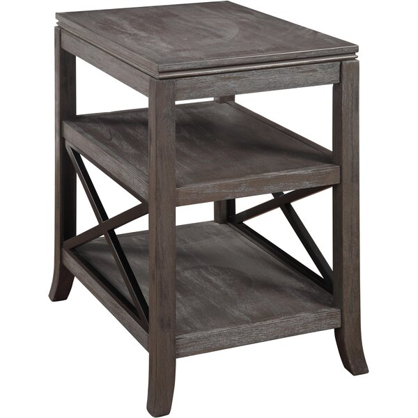 Fleshman End Table by Gracie Oaks