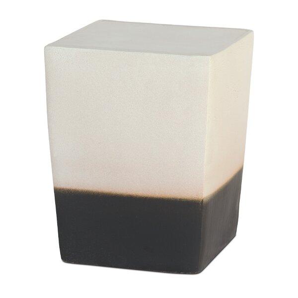 Low Luster 2 Glaze Garden Stool (Set of 2) by Seasonal Living