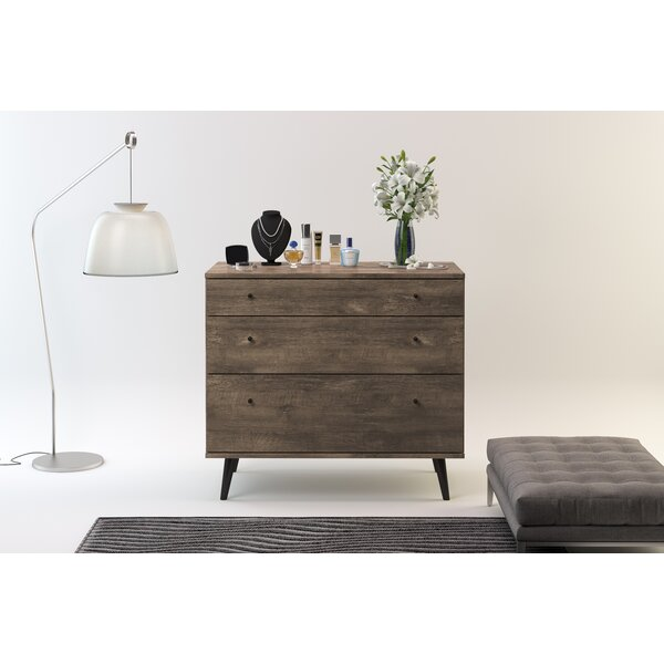 Norloti 3 Drawer Dresser by Langley Street