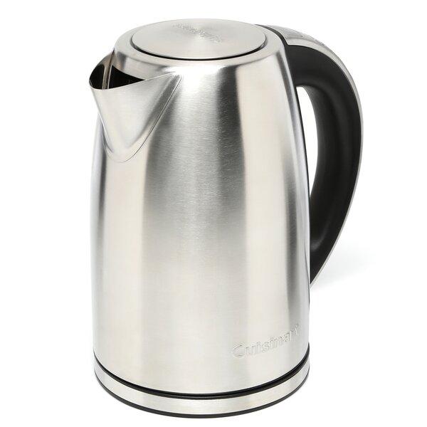1 8 Qt Cordless Electric Tea Kettle By Cuisinart.