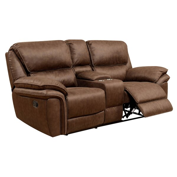 Hellman Transitional Love Seat Manual Wall Hugger Recliner [Red Barrel Studio]