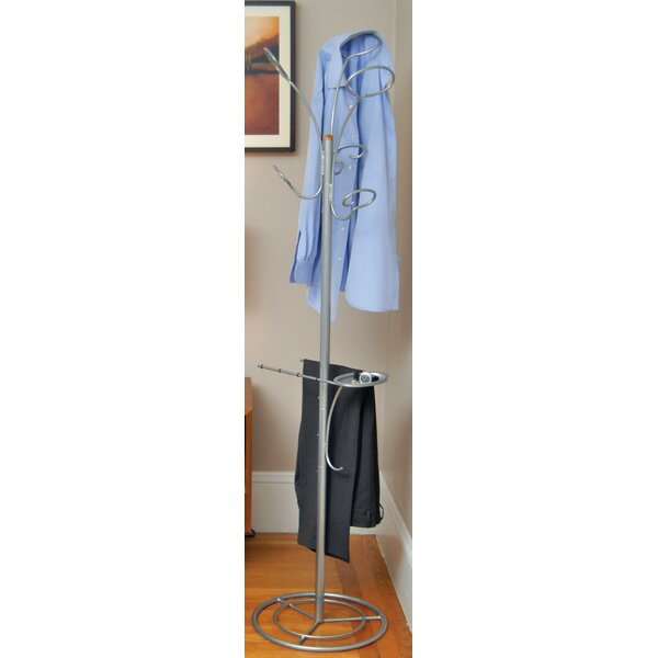 Busby Bedroom Coat Rack by Rebrilliant