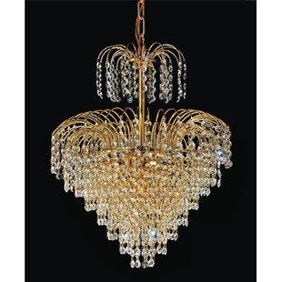 Palm tree chandelier wayfair save to idea board aloadofball Choice Image