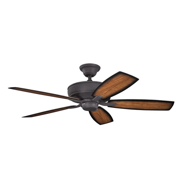 52 Carruthers 5-Blade Patio Ceiling Fan by Alcott Hill