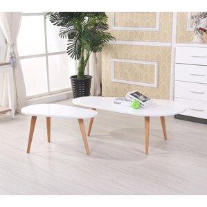 white coffee table sets you'll love | wayfair