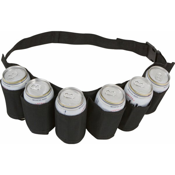 Beer And Soda Can Holster Belt By Ez Drinker.