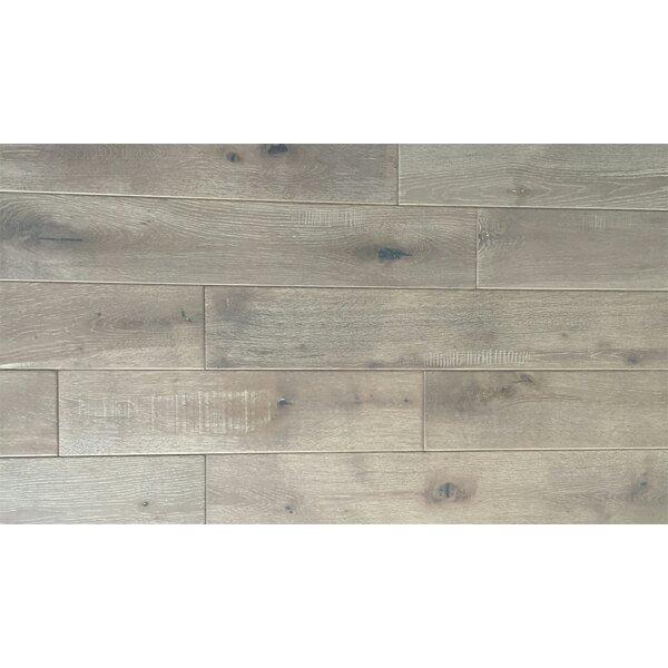 Jasmine 6 Solid Oak Hardwood Flooring in Distressed Driftwood by Welles Hardwood