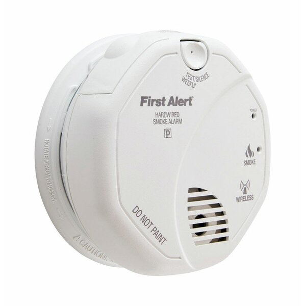 Hard-Wired Ionization Smoke Alarm by First Alert