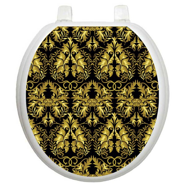 Classic Rococo Toilet Seat Decal by Toilet Tattoos