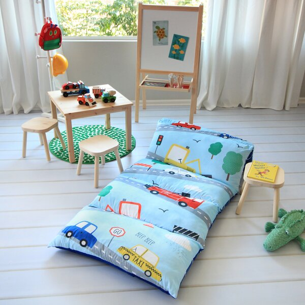 Hopedale Transportation Themed Pillow Cover by Zoomie Kids