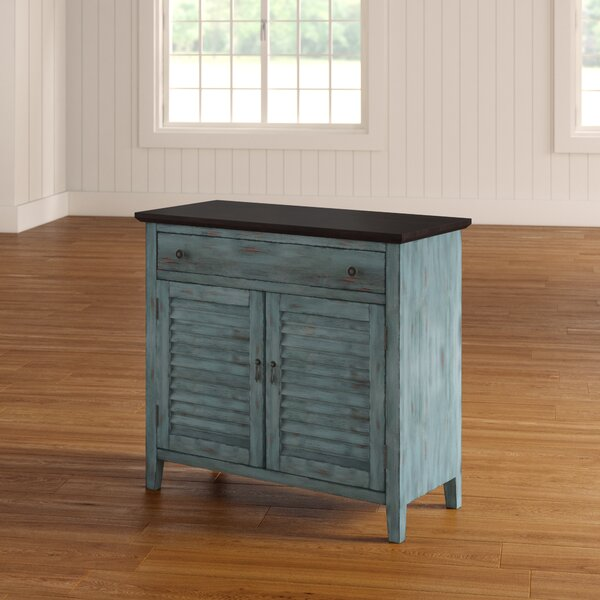 Summy Tone Shutter 2 Door  Accent Cabinet by August Grove