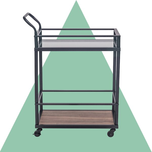 Damari Kitchen Bar Cart by Hashtag Home