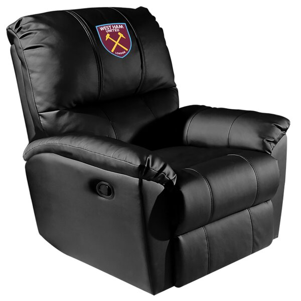 West Ham Manual Rocker Recliner By Dreamseat