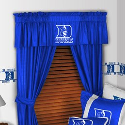 NCAA 88 Duke Blue Devils Curtain Valance by Sports Coverage Inc.