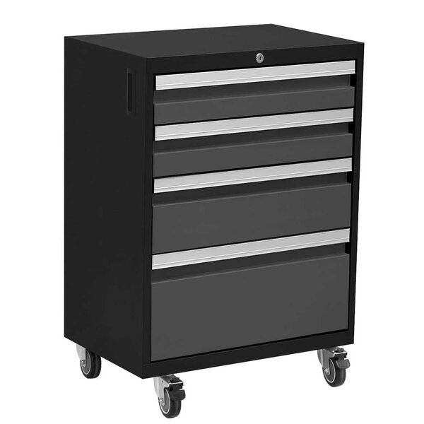 Bold 3.0 20.75 Wide 4 Drawers Bottom Rollaway Chest by NewAge Products