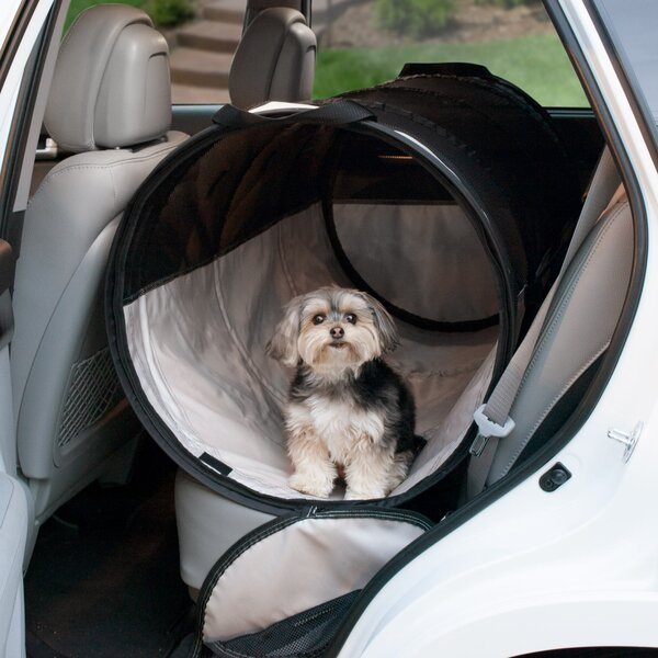 Leola Backseat Tube Pet Carrier by Tucker Murphy Pet