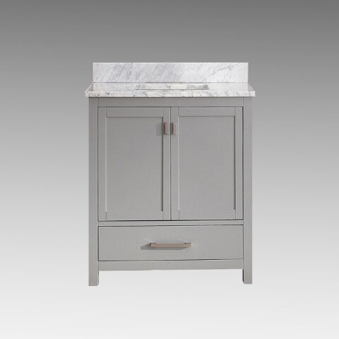 Ridge Wood 30 Single Bathroom Vanity Set by Rosecliff Heights
