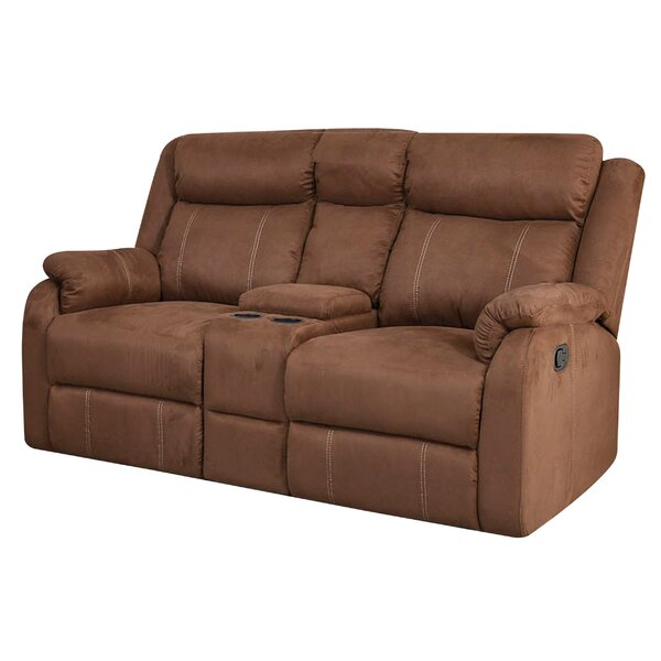 Brooten Motion Reclining Loveseat by Winston Porter