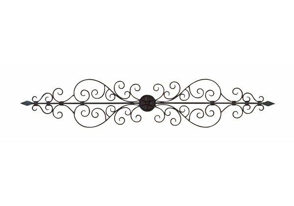 Oil Rubbed Metal Wall Décor by Charlton Home