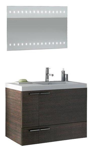 Letourneau 32 Single Bathroom Vanity Set with Mirror