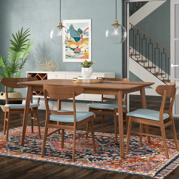 Best  Yolanda 5 Piece Dining Set By Langley Street Coupon