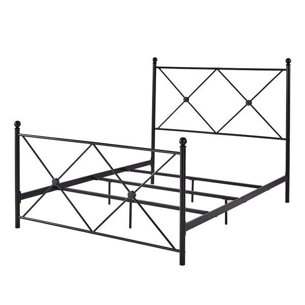 Shirk Metal Queen Standard Bed by Canora Grey