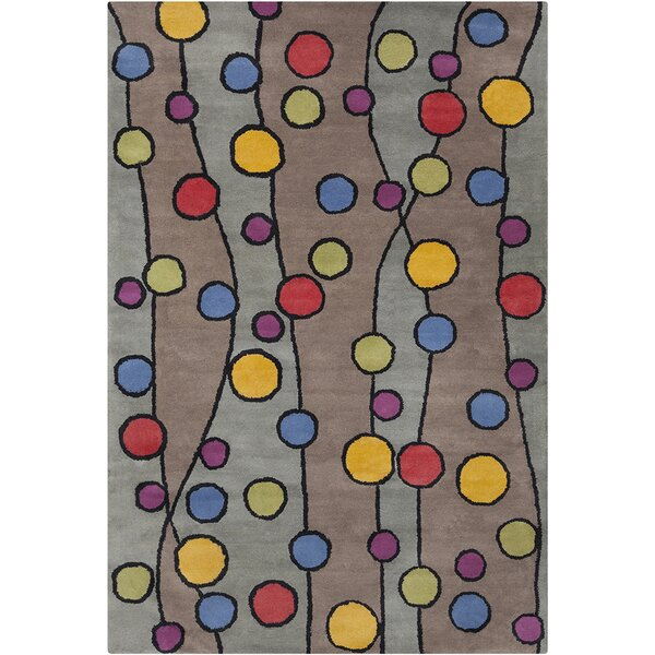 Blair Hand Tufted Wool Area Rug by Zoomie Kids