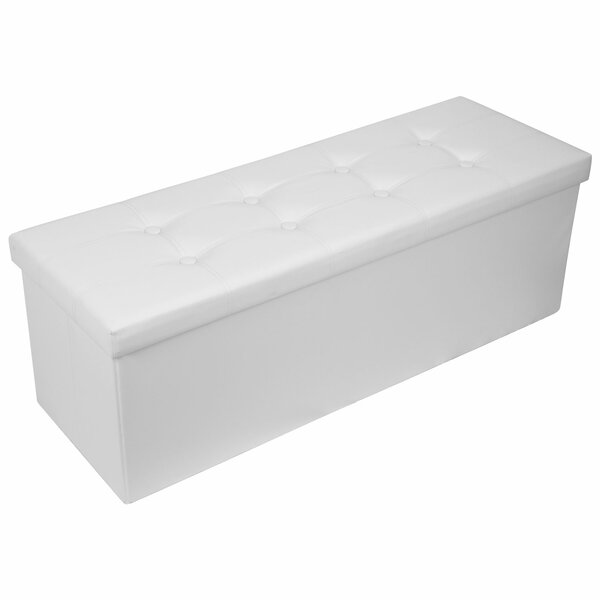 Kalgan 43'' Tufted Rectangle Storage Ottoman By Red Barrel Studio