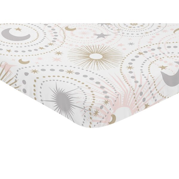 Celestial Mini Fitted Crib Sheet by Sweet Jojo Designs