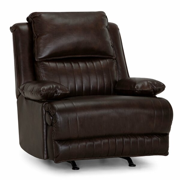 Maliah Leather Power Rocker Recliner W002014360