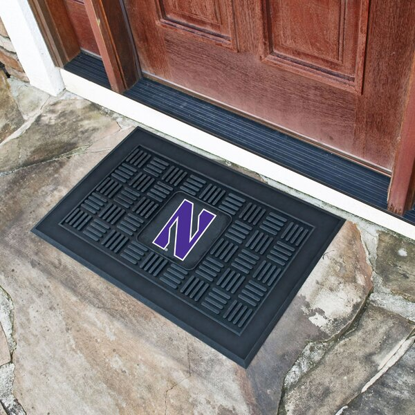 Northwestern University Medallion Doormat by FANMATS