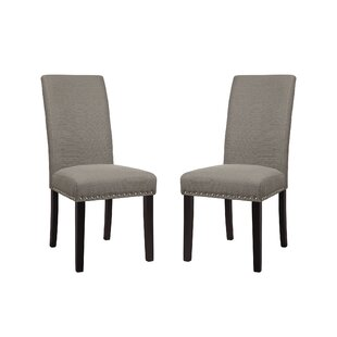 Redfield Upholstered Dining Chair (Set of 2) by Three Posts