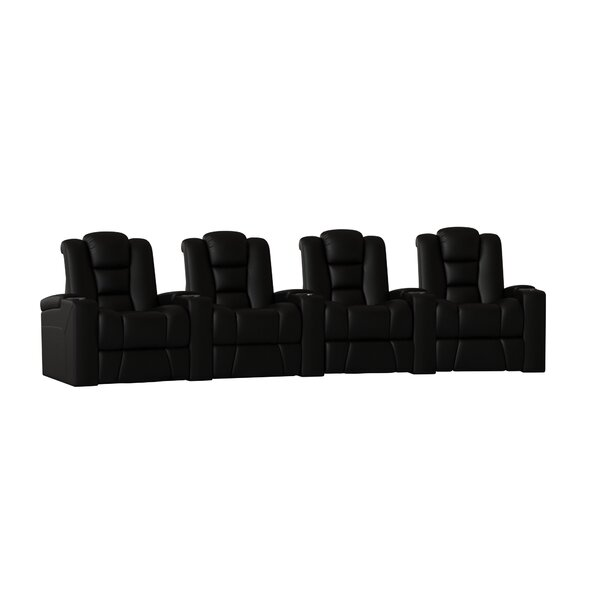 Home Theater Row Curved Seating (Row Of 4) By Latitude Run