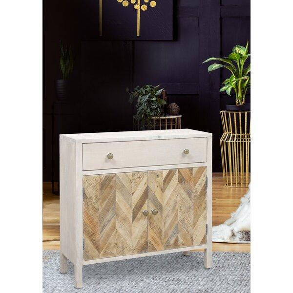 Glennwood 2-door 1-drawer Cabinet by Bloomsbury Market