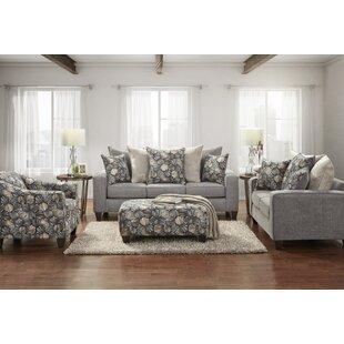 Danico Fabric 4 Piece Living Room Set by Latitude Run®