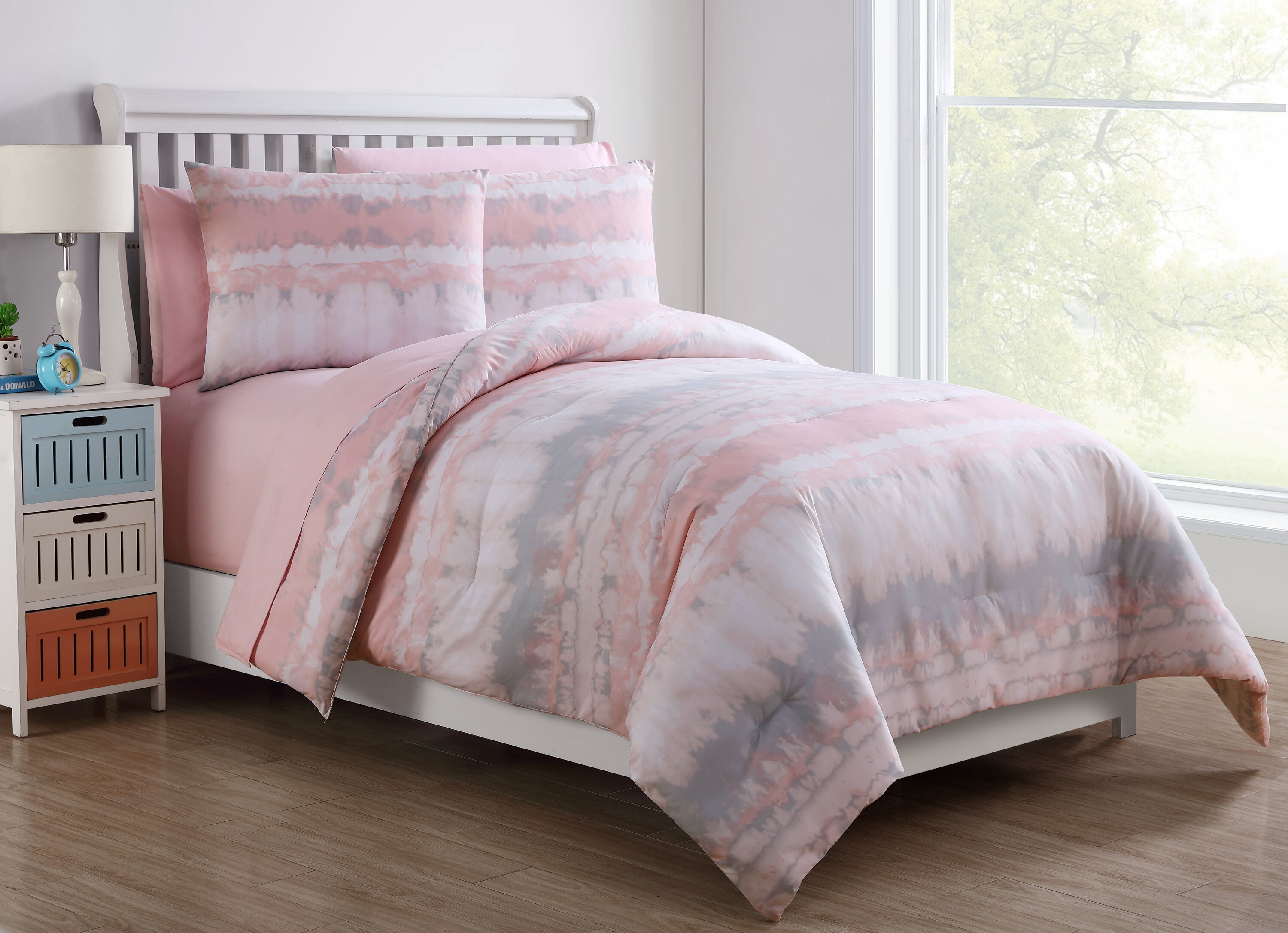 pink gatsby set lansfield duvet blush luxury cover bedding product catherine superking
