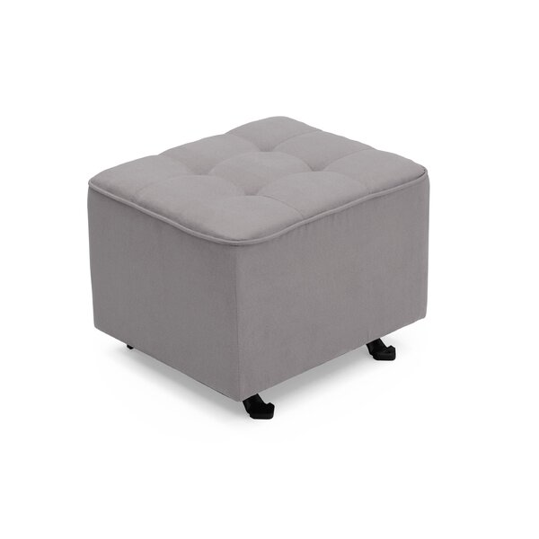 Nursery Tufted Glider Cube Ottoman by Delta Children