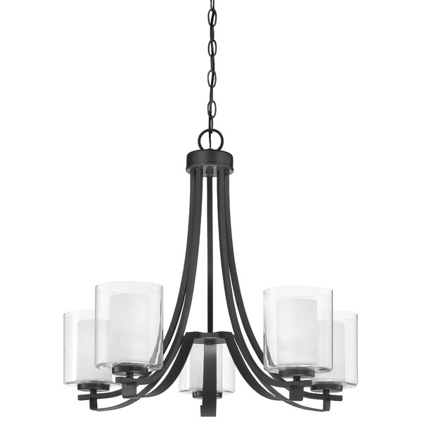 Hainsworth 5 - Light Candle Style Empire Chandelier by Red Barrel Studio Red Barrel Studio