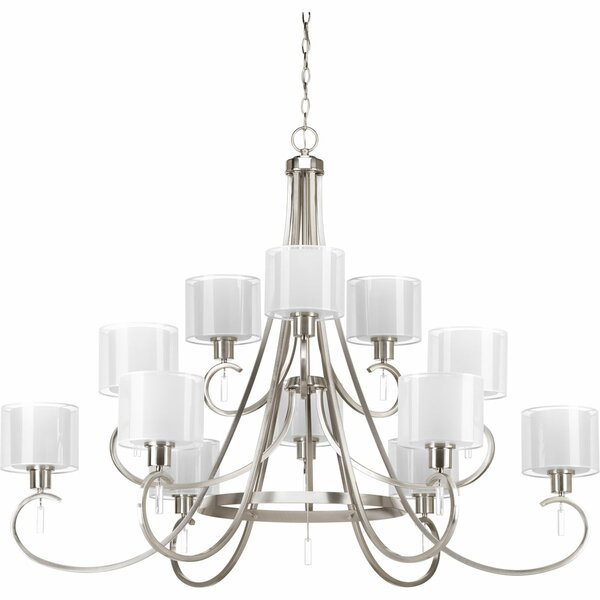 Ernestina 12 - Light Shaded Tiered Chandelier By Red Barrel Studio
