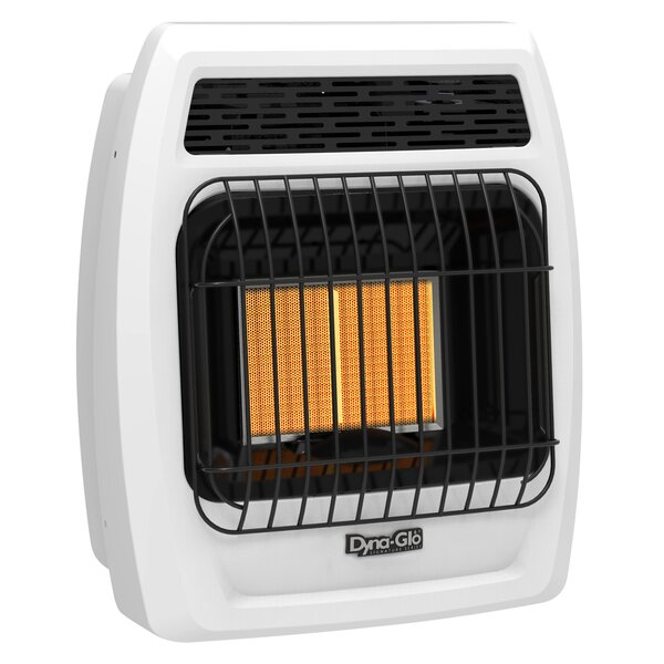 Dyna-Glo Vent Free 12,000 BTU Propane Radiant Wall Heater with Thermostat by Dyna-Glo