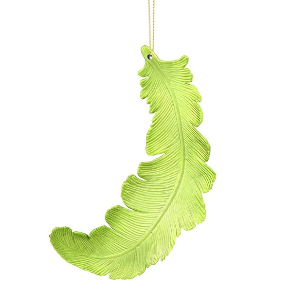 Feather Shatterproof Christmas Ornament (Set of 6) by The Holiday Aisle
