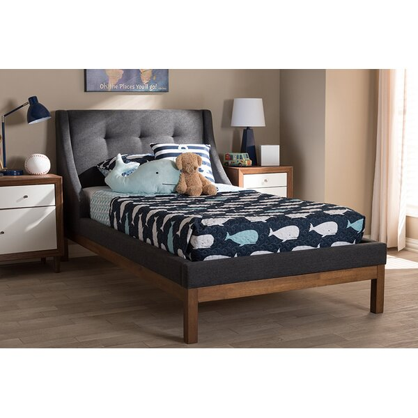 Dvergheim Twin Upholstered Platform Bed by Latitude Run