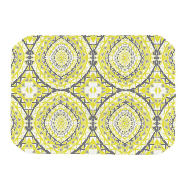 Yellow Tessellation Placemat by KESS InHouse
