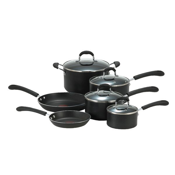 Professional 10 Piece Non-Stick Cookware Set by T-fal