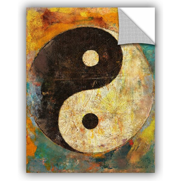 Michael Creese Yin Yang Wall Decal by ArtWall