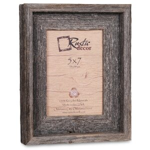 barn wood reclaimed wood signature picture frame - Driftwood Picture Frames