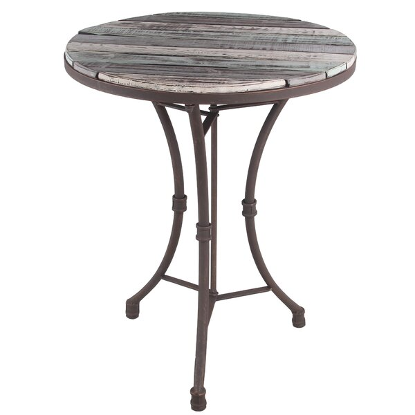 Tincher Round Bistro Table by Millwood Pines