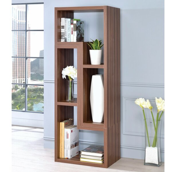 Dabbs Wooden Corner Unit Bookcase by Wrought Studio