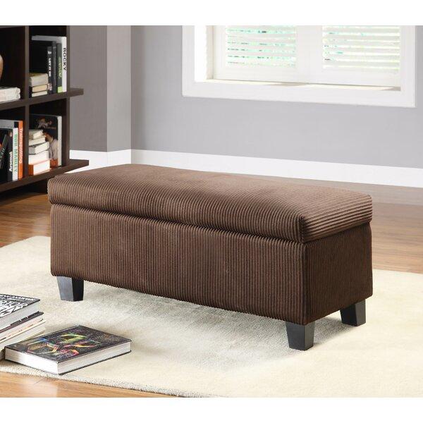 Lola New Fabric Storage Bench by Latitude Run