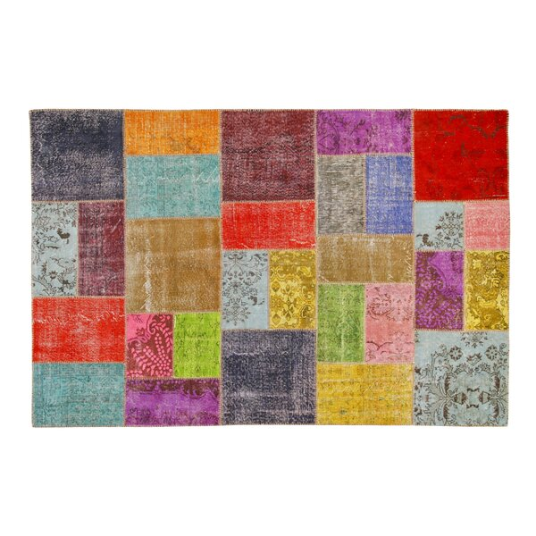 Usak Patchwork Handmade Multicolor Area Rug by La Viola Décor